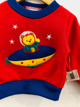 Load image into Gallery viewer, UFO bear sweatshirt / 12m