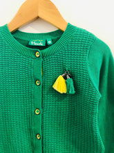 Load image into Gallery viewer, waffle knit cardigan / 3-4y