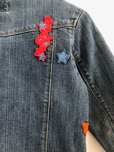 Load image into Gallery viewer, patch denim jacket / 5Y
