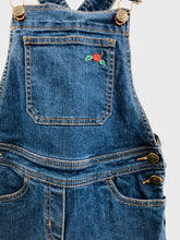 Load image into Gallery viewer, denim overalls / 8Y