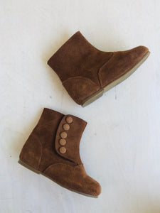 suede booties / US 6