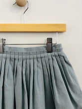 Load image into Gallery viewer, pleated micro cord skirt / 3T