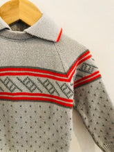 Load image into Gallery viewer, collared geo sweater / 6-9m
