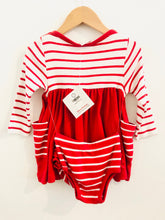 Load image into Gallery viewer, striped dress set / 12-18m