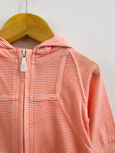 Load image into Gallery viewer, striped jersey hoodie / 6-12m