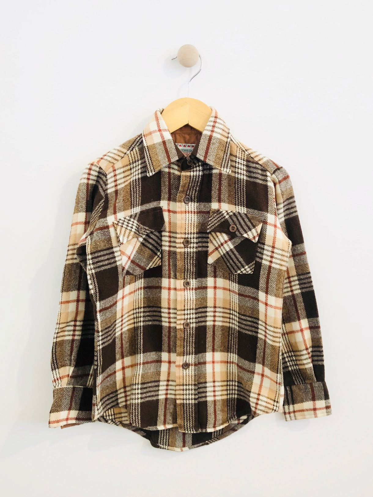 mcgregor flannel / 8Y