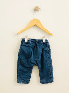 soft denim pant / 3-6m
