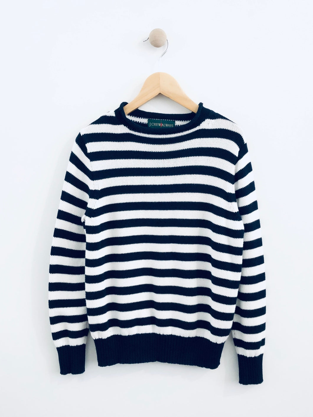 striped sweater / 8Y