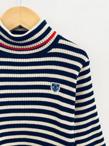 striped ribbed sweater / 18-24m