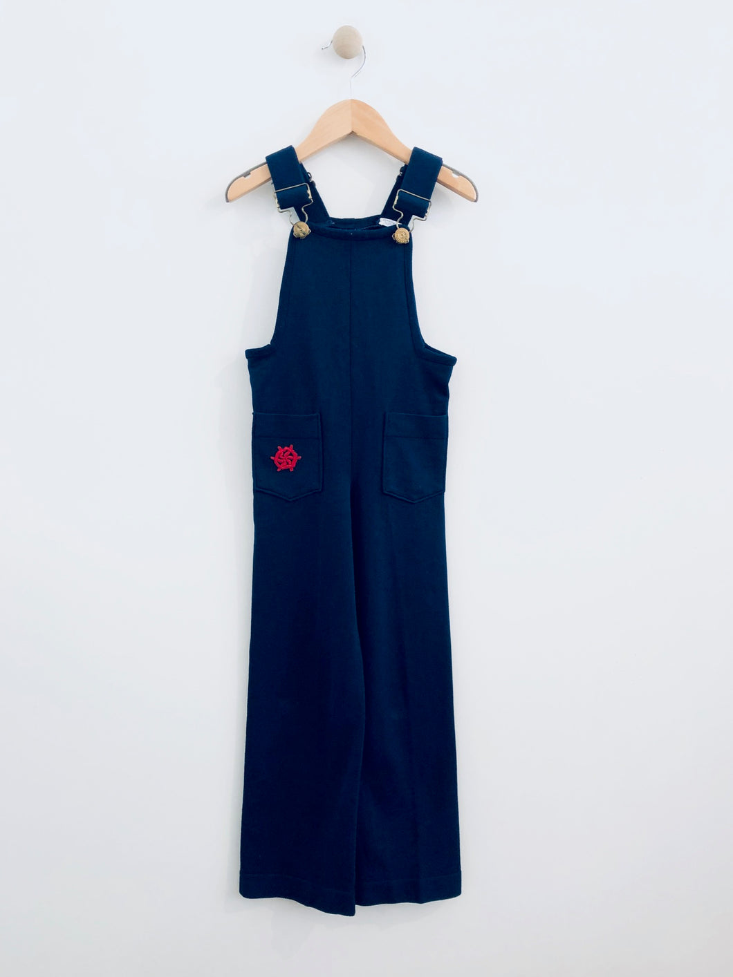 danskin nautical overalls / 6Y