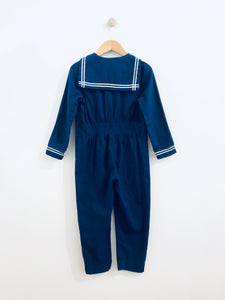 nautical jumpsuit / 6Y
