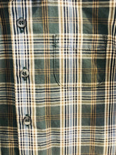 Load image into Gallery viewer, plaid button up / 12m