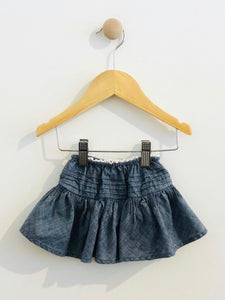 pleated yoke skirt / 3m