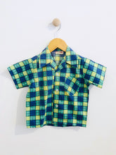 Load image into Gallery viewer, plaid button up / 3T