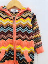 Load image into Gallery viewer, zig-zag hoodie / 12m
