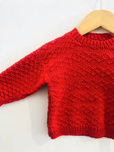 Load image into Gallery viewer, textured sweater / 6-12m