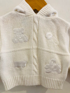 hooded sweater / 0-3m