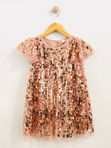 sequin dress / 5Y