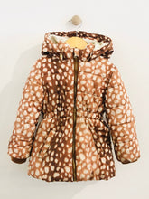 Load image into Gallery viewer, deer print coat / 2-3T