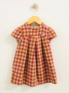 houndstooth dress / 18m