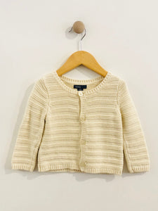 cardigan sweater / 6-12m