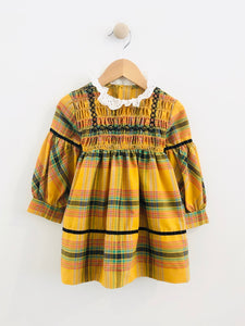 plaid dress / 2-3T