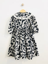 Load image into Gallery viewer, butterfly print dress / 4T