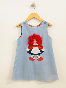 raggedy ann dress / 4T