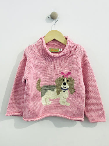 puppy sweater / 2T