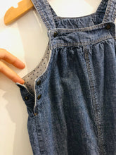 Load image into Gallery viewer, chambray overalls / 18m