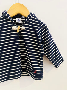 striped nautical shirt / 12m