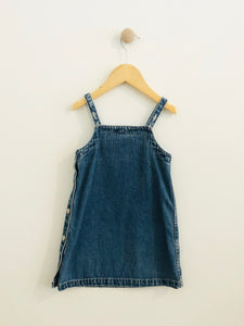 ralph lauren denim dress / 3T