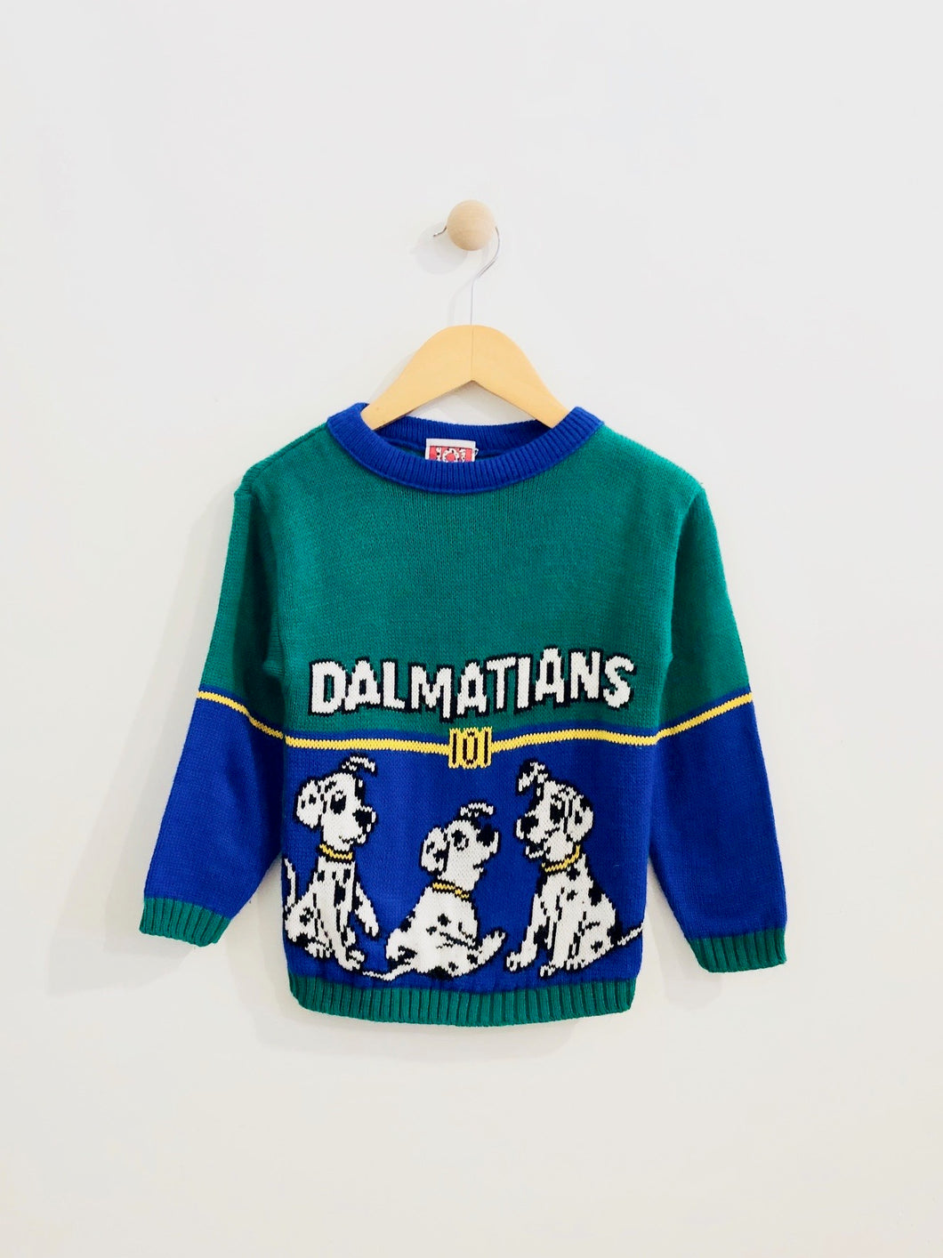 101 dalmatians sweater / 4-5T