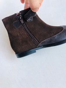 combo ankle boot / US 8