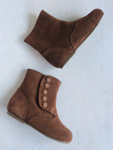 suede ankle boot / US 13