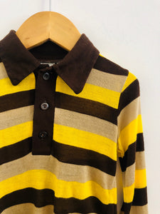 striped knit top / 18-24m