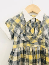 Load image into Gallery viewer, plaid dress / 3T