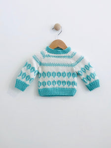 knit sweater / 3m