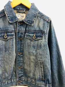 denim jacket / 7-8Y