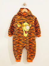 Load image into Gallery viewer, tigger hooded onesie / 2-3T