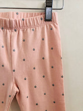Load image into Gallery viewer, silver polka dot legging / 2T