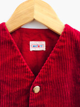 Load image into Gallery viewer, corduroy key vest / 4T