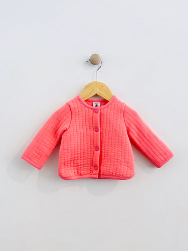 quilted cardigan / 6m