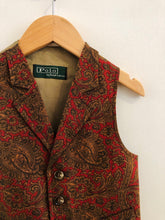 Load image into Gallery viewer, paisley vest / 3T