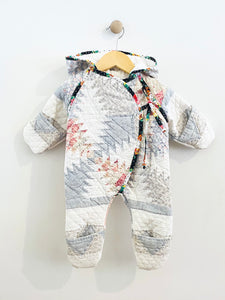 quilted baby bunting / 3m