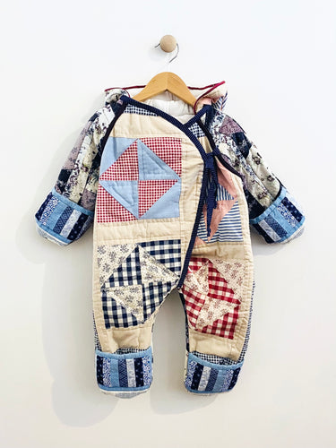 quilted baby bunting / 6m