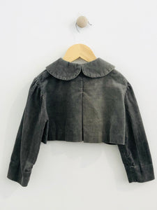 corduroy crop jacket / 12-24m