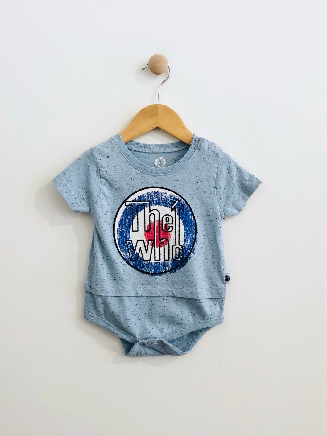 the who bodysuit / 18m