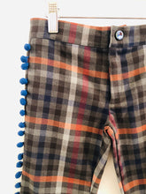Load image into Gallery viewer, plaid pom pom pant / 5-6Y