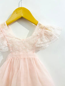 sheer apron dress / 12m